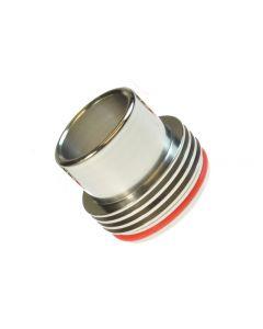 Armerah 28.5mm RDA Top Cap e-cig Mouthpiece Heatsink/Stainless Super Wide Bore