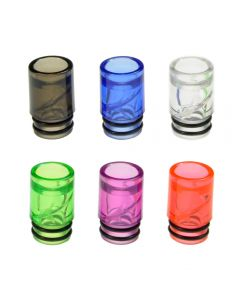 Armerah Anti Spit Back 510 Drip Tip eCig Mouthpiece Short/Medium Plastic Multipack