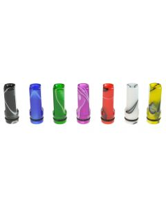 Armerah Flat 510 Drip Tip e-cig Mouthpiece Short/Narrow/Plastic/Marble Available Colours
