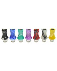 Armerah Marble Vase 510 Drip Tip e-cig Mouthpiece Short/Narrow/Acrylic/Stainless - Available Colours
