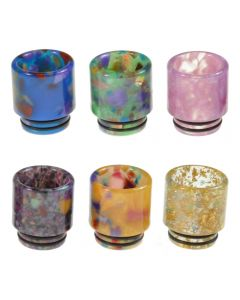Armerah Abstract 810 Drip Tip for Smok TFV8/TFV12 Tanks Short/Wide Epoxy Resin Available Colours