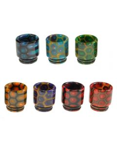 Armerah Honeycomb 810 Drip Tip Smok TFV8/TFV12 Tank Short/Wide Epoxy Resin Available Colours