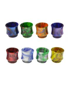 Armerah Marbled Curve 810 Drip Tip Smok TFV8/TFV12 Tanks Short/Extra-Wide Resin Available Colours