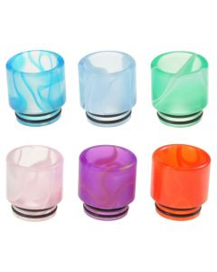 Armerah Pastel Regular 810 Drip Tip eCig Mouthpiece Short/Wide Acrylic/Marble Available Colours