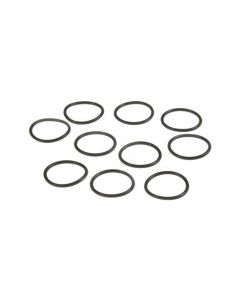 810 Atomiser Replacement O-Ring Mouthpiece/Drip-Tip Twin Seal 12x1 Black 10 Pack
