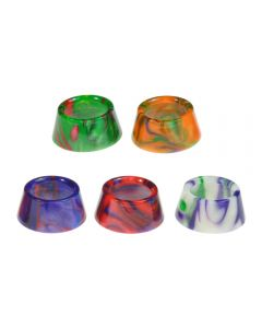Armerah Drip Tip Mouthpiece for Aspire Athos eCig Tank Wide Marble Epoxy Resin Available Colours
