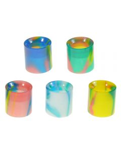 Armerah Drip Tip for Aspire Nautilus X & PockeX Short/Medium Pastel Epoxy Resin Available Colours