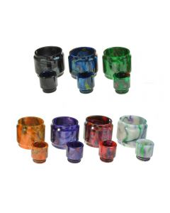 Armerah Replacement Resin Drip Tip Tube Kit for Smok TFV12 Cloud Beast King Tank Available Colours