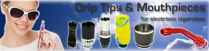 Drip Tips and Accessories for eCigs and Vaping